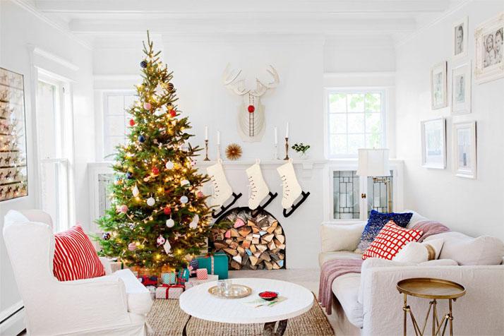 Как украсить дом к Новому году 2018 - 7 лучших идей и вариантов 7