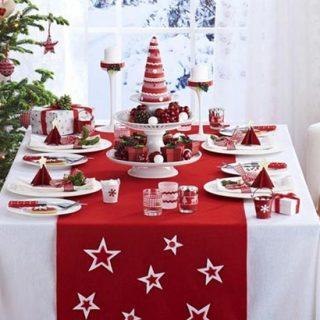 Как украсить стол на Новый год 2018 своими руками - 10 вариантов! 1