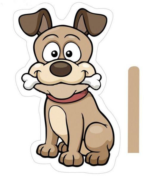 Картинки для срисовки Год собаки - самые прикольные и красивые 11