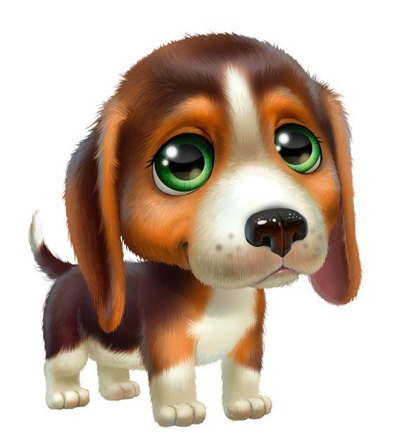 Картинки для срисовки Год собаки - самые прикольные и красивые 12