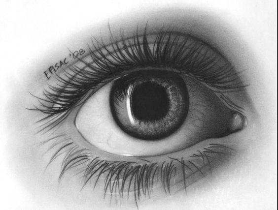 Картинки для срисовки глаза девушек и парней - красивые и прикольные 1