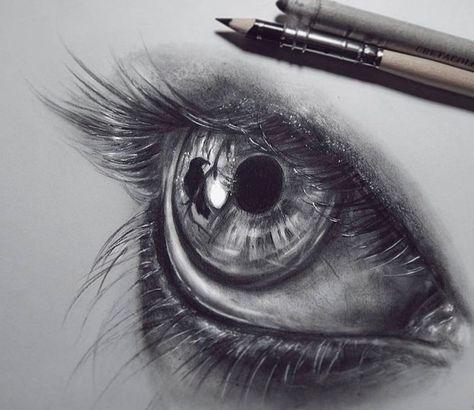 Картинки для срисовки глаза девушек и парней - красивые и прикольные 3