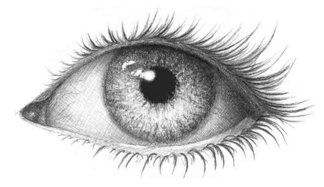 Картинки для срисовки глаза девушек и парней - красивые и прикольные 8