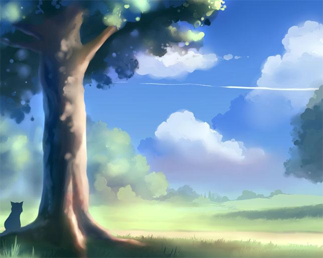Картинки для срисовки пейзаж - самые красивые и удивительные 1