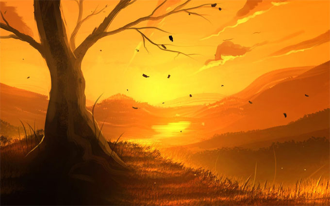 Картинки для срисовки пейзаж - самые красивые и удивительные 2