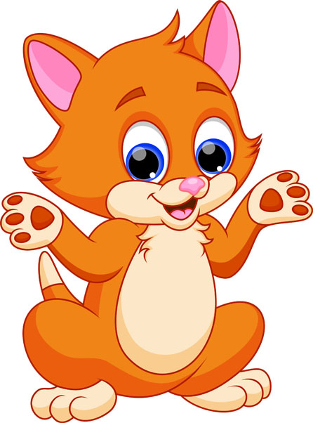 Кот и кошка картинки для детей - самые прикольные и интересные 11