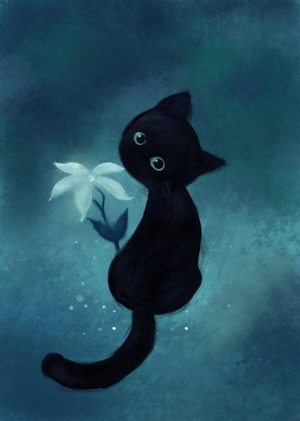 Кот и кошка картинки для детей - самые прикольные и интересные 4