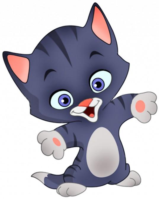 Кот и кошка картинки для детей - самые прикольные и интересные 5
