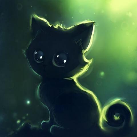 Кот и кошка картинки для детей - самые прикольные и интересные 6