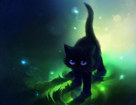 Кот и кошка картинки для детей - самые прикольные и интересные 8