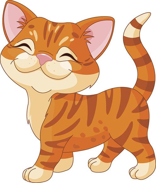 Кот и кошка картинки для детей - самые прикольные и интересные 9