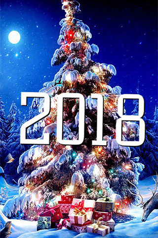 Красивые зимние картинки на телефон - самые интересные, скачать 2018 2