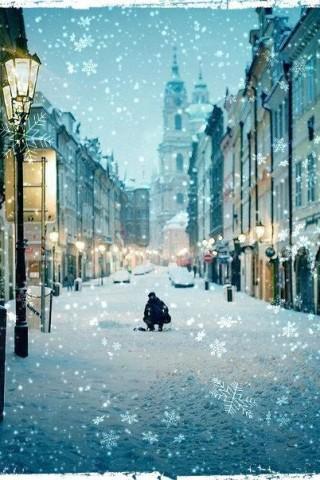 Красивые зимние картинки на телефон - самые интересные, скачать 2018 3