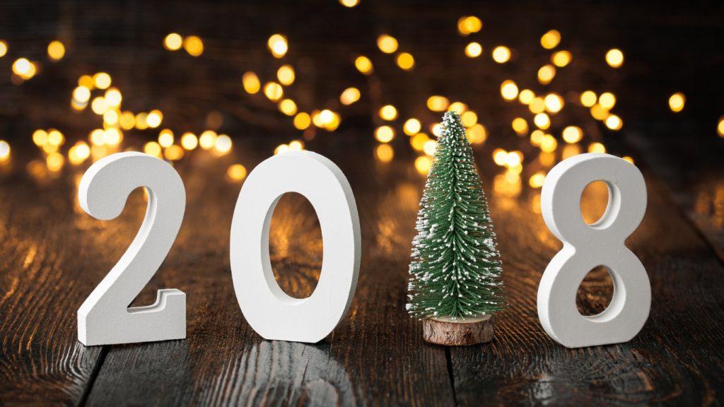 Красивые обои для рабочего стола Новый год 2018 - скачать бесплатно 11