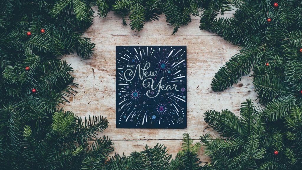 Красивые обои для рабочего стола Новый год 2018 - скачать бесплатно 6