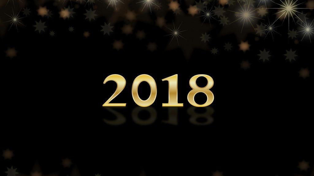 Красивые обои для рабочего стола Новый год 2018 - скачать бесплатно 8