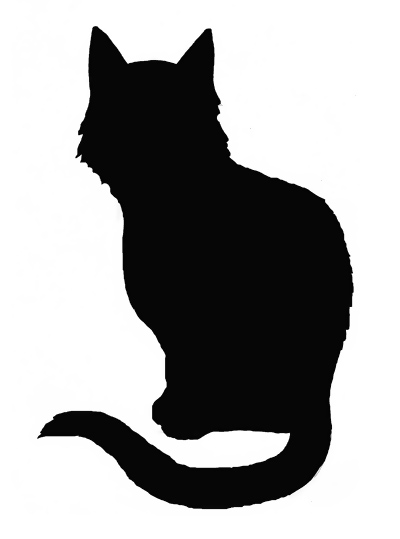 Красивые силуэты кошки картинки и изображения - интересная подборка 13