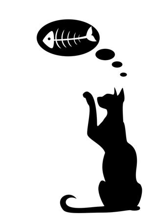 Красивые силуэты кошки картинки и изображения - интересная подборка 14