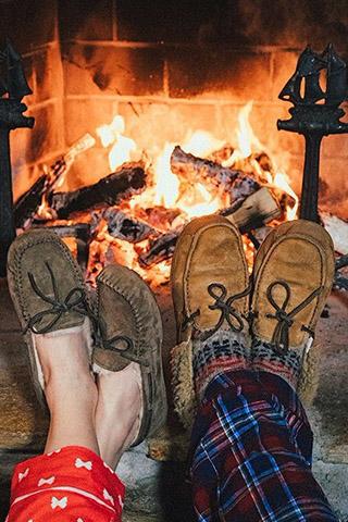 Новогодние картинки зимы на телефон - красивые и прикольные 10