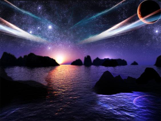 Прикольные и красивые картинки, изображения космоса - подборка 10