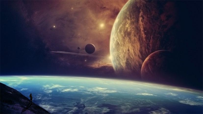 Прикольные и красивые картинки, изображения космоса - подборка 11