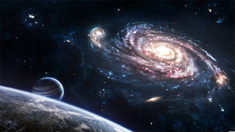 Прикольные и красивые картинки, изображения космоса - подборка 13
