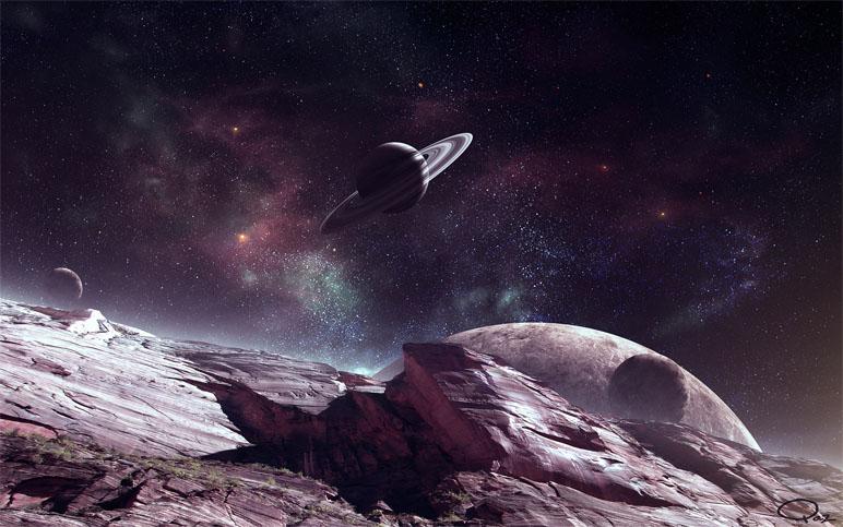 Прикольные и красивые картинки, изображения космоса - подборка 14