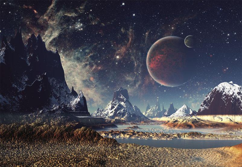 Прикольные и красивые картинки, изображения космоса - подборка 6