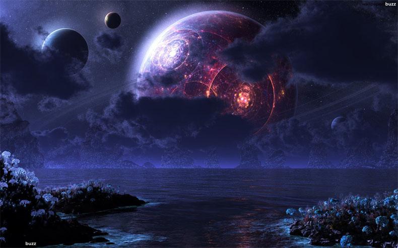 Прикольные и красивые картинки, изображения космоса - подборка 8