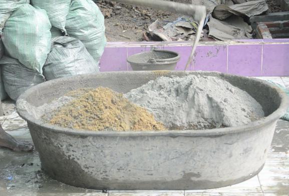 Цементно-песчаный раствор - пропорции, состав, приготовление 1