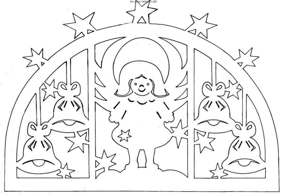 Шаблоны картинок на окна к новому году из бумаги - красивые и прикольные 3