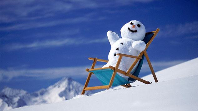 Веселые и смешные картинки про зиму и снег - забавная подборка №23 6