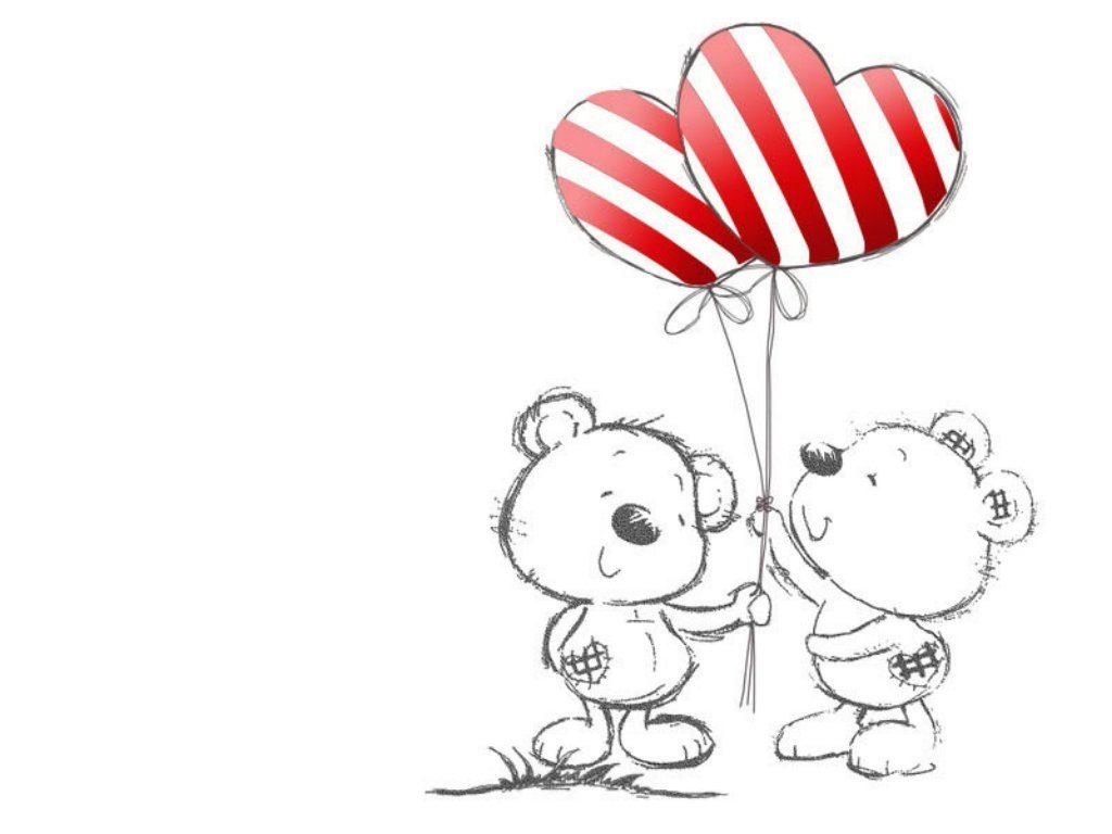 Картинки для срисовки про любовь - самые милые и прикольные 3