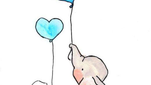 Картинки для срисовки про любовь - самые милые и прикольные 7