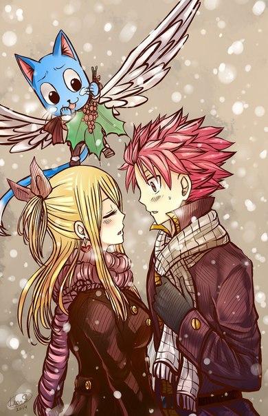 Комиксы про Нацу и Люси Fairy Tail - самые красивые и прикольные 6