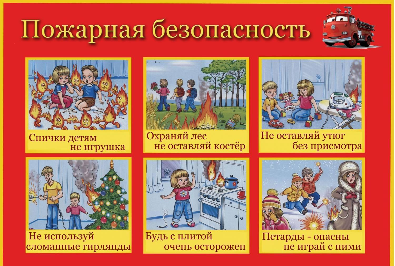 Красивые и интересные рисунки на тему пожарная безопасность - для детей 3