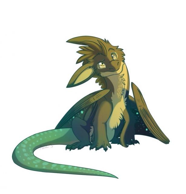 Красивые и прикольные картинки драконов для срисовки - скачать 2018 10
