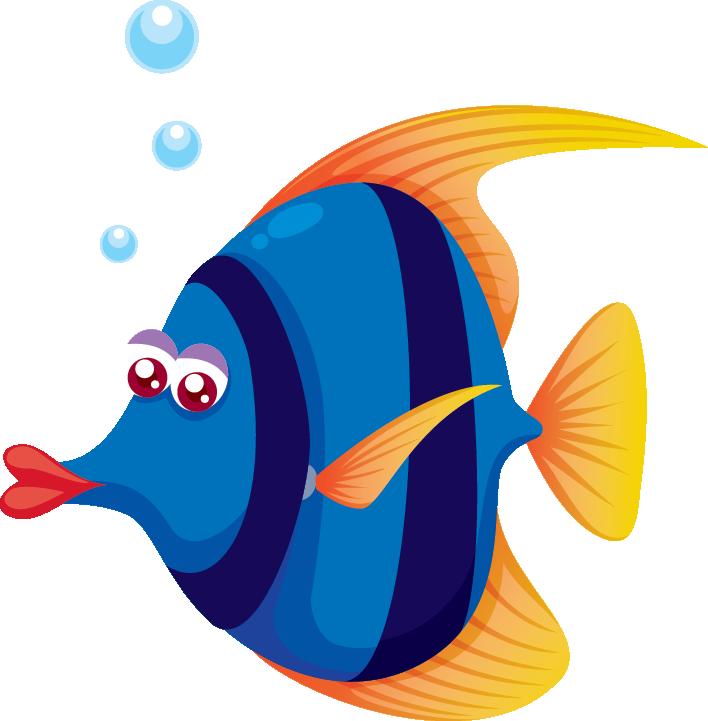 Красивые и прикольные картинки рыб для детей - лучшая подборка 11