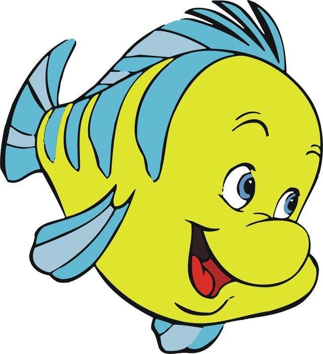 Красивые и прикольные картинки рыб для детей - лучшая подборка 14