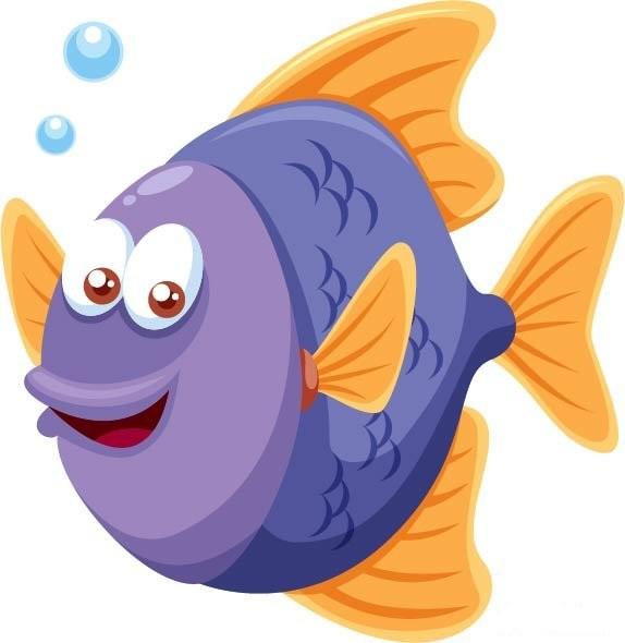 Красивые и прикольные картинки рыб для детей - лучшая подборка 9