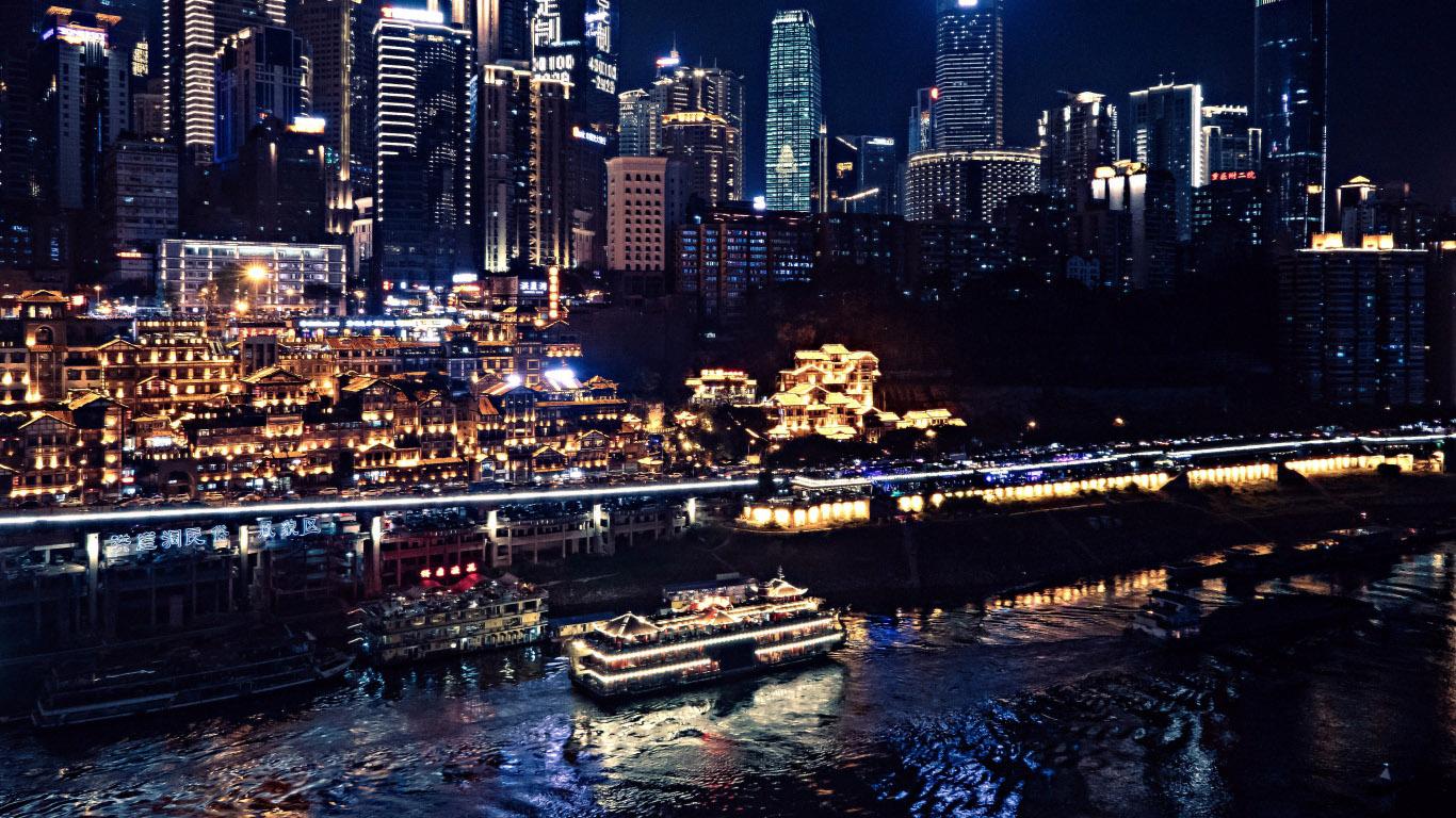 Красивые картинки городов и небоскребов на рабочий стол - подборка №2 1