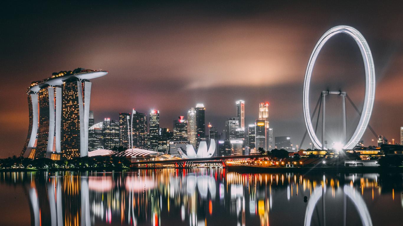 Красивые картинки городов и небоскребов на рабочий стол - подборка №2 2