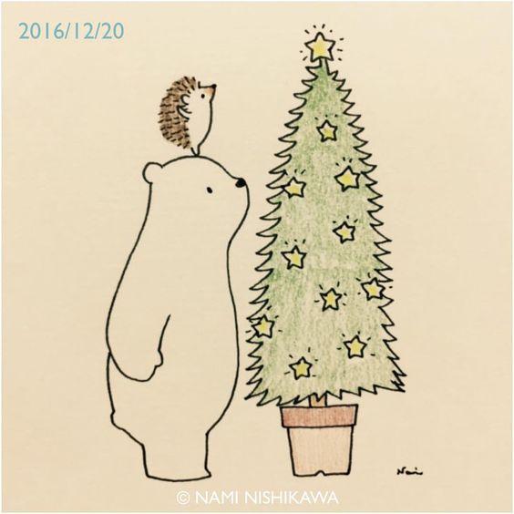 Новогодние картинки для срисовки - самые красивые и прикольные 11