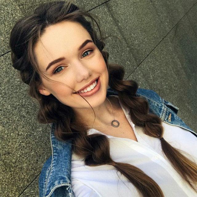 Самые милые и красивые девушки 2018 - смотреть подборку фото №8 10