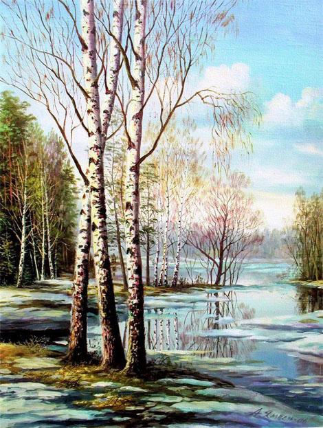 Картинки и рисунки для детей на тему Краски Весны - самые красивые 4