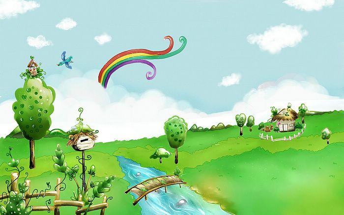 Картинки и рисунки для детей на тему Краски Весны - самые красивые 7
