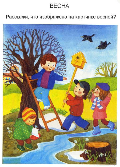 Картинки на тему Весна для детского сада - самые красивые и прикольные 12