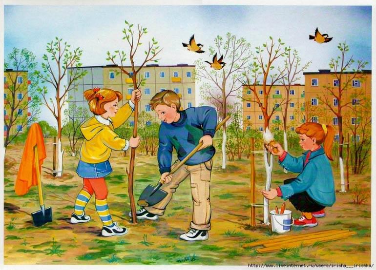 Картинки на тему Весна для детского сада - самые красивые и прикольные 13