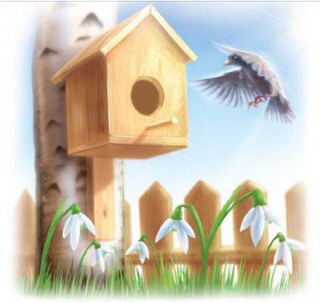 Картинки на тему Весна для детского сада - самые красивые и прикольные 14