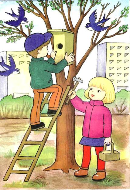 Картинки на тему Весна для детского сада - самые красивые и прикольные 17